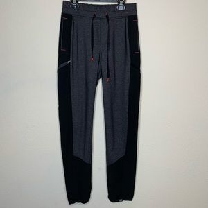 Title Nine Black and Grey Active Jogger Pants XS